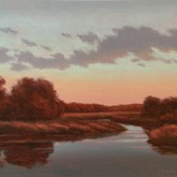 Backwater Sunrise by Richard Krogstad