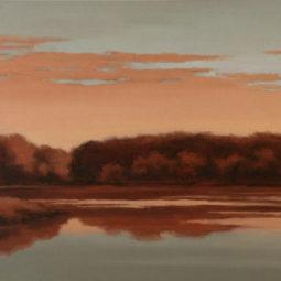 Carver Lake Sunrise by Richard Krogstad