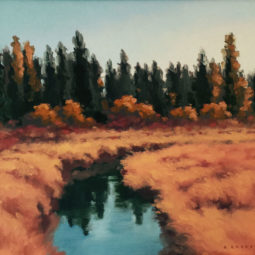 Pine and Water by Richard Krogstad