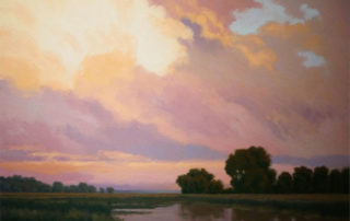 Evening Storm by Richard Krogstad