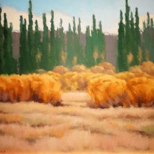 Golden Bushes by Richard Krogstad