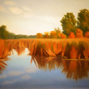 Marsh Stillness by Richard Krogstad