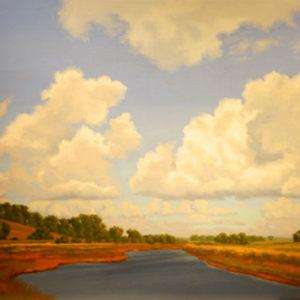 Prairie Afternoon by Richard Krogstad