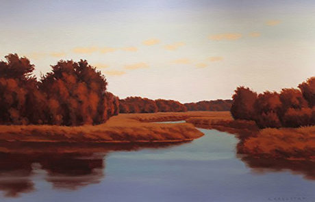Evening Colors by Richard Krogstad