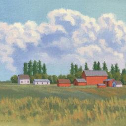 Amish Farm by Richard Krogstad
