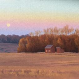 Country Cabin by Richard Krogstad
